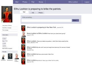 Elihu Lockton is preparing to bribe the patriots.