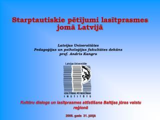 Latvijas Universitāte