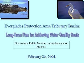 Everglades Protection Area Tributary Basins