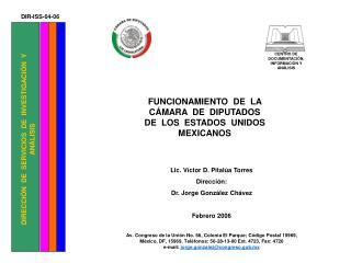 DIRECCIÓN  DE  SERVICIOS  DE  INVESTIGACIÓN  Y  ANÁLISIS