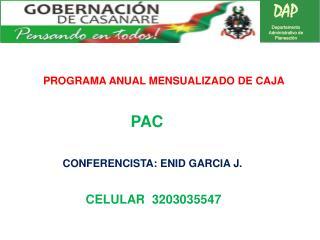 DAP Departamento Administrativo de Planeaciòn