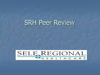 SRH Peer Review