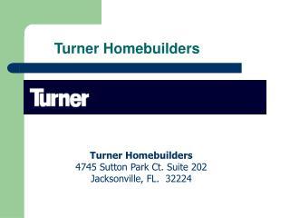Turner Homebuilders