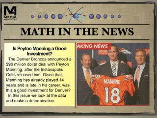 Peyton Manning's Contract