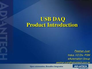 USB DAQ  Product Introduction