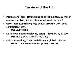 Russia and the US