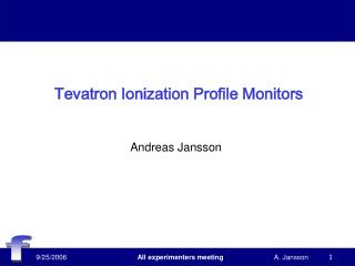 Tevatron Ionization Profile Monitors
