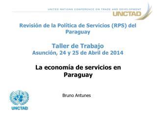La economía de servicios en Paraguay