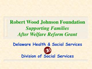 Robert Wood Johnson Foundation Supporting Families After Welfare Reform Grant