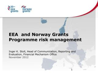 EEA  and  Norway  Grants Programme  risk  management