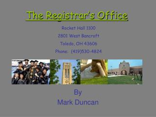 The Registrar's Office