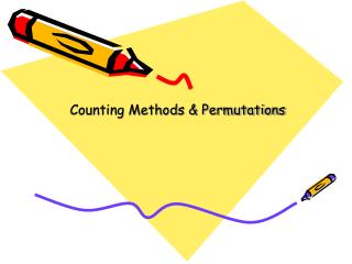 Counting Methods & Permutations