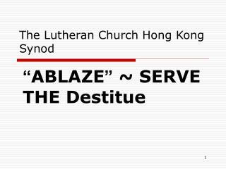 The Lutheran Church Hong Kong Synod
