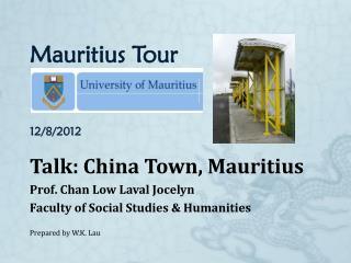 Mauritius Tour 12/8/2012