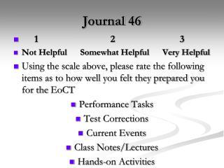 Journal 46