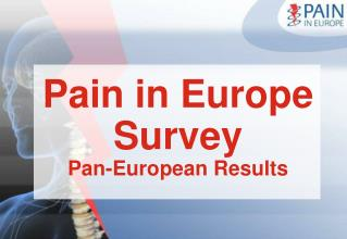 Pain in Europe Survey  Pan-European Results