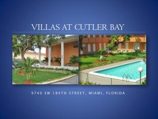 VILLAS AT CUTLER BAY