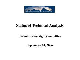 Status of Technical Analysis