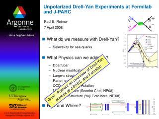 Unpolarized Drell-Yan Experiments at Fermilab and J-PARC