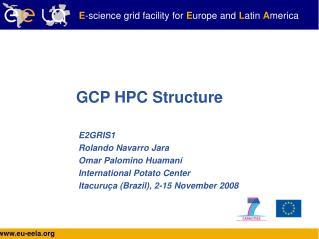GCP HPC Structure