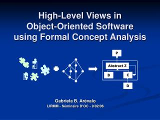 High-Level Views in  Object-Oriented Software  using Formal Concept Analysis