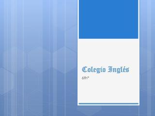 Colegio Inglés