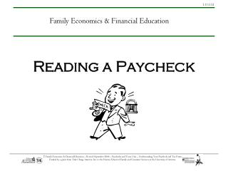 Reading a Paycheck