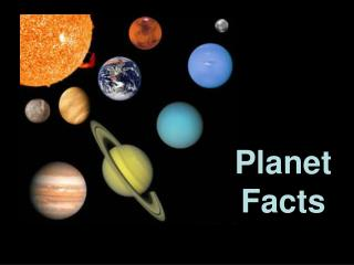 Planet Facts