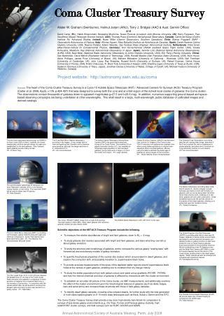 Coma Cluster Treasury Survey