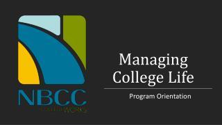 Managing College Life