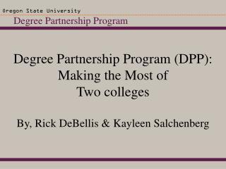 Degree Partnership Program