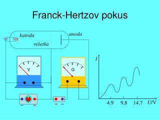 Franck-Hertzov pokus