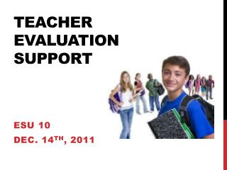 Teacher  EvaluatioN  Support