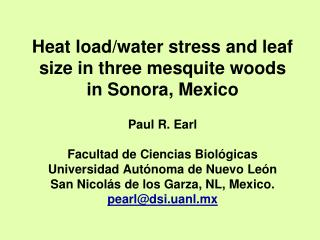 Heat load