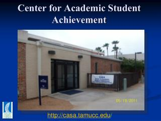 Center for Academic Student Achievement