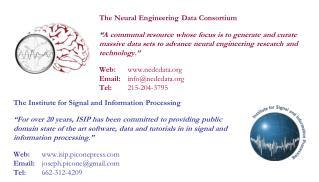 The Neural Engineering Data Consortium