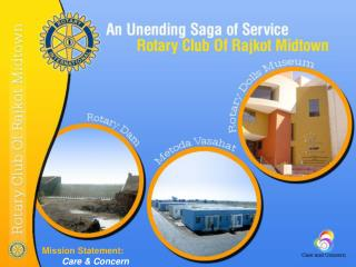 Rotary Club Of Rajkot Midtown Projects
