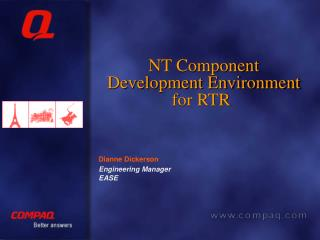 NT Component Development Environment for RTR