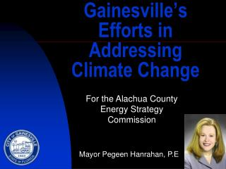 Gainesville's Efforts in Addressing Climate Change