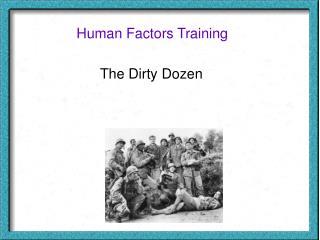 Human Factors Training