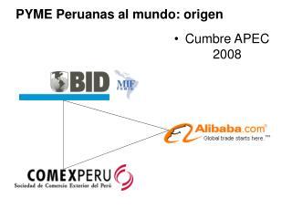 PYME Peruanas al mundo: origen