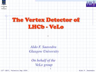 The Vertex Detector of LHCb - VeLo