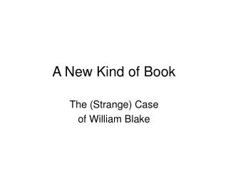 A New Kind of Book