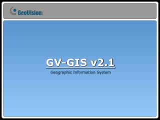 GV-GIS v2.1
