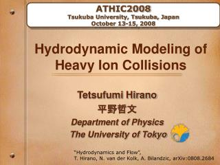 Hydrodynamic Modeling of Heavy Ion Collisions