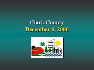 Clark County December 6, 2006