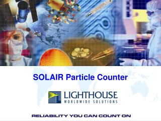 SOLAIR Particle Counter