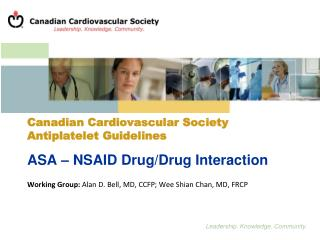 Canadian Cardiovascular Society Antiplatelet Guidelines