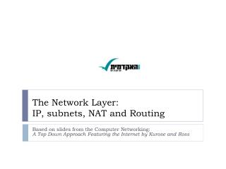 The Network Layer: IP, subnets, NAT and Routing