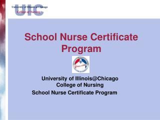 School Nurse Certificate Program